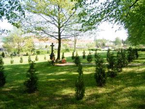 Grünflächen auf Friedhöfen