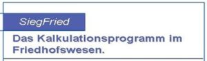 SiegFried - Das Kalkulationsprogramm im Friedhofswesen